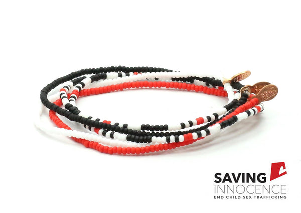 Saving Innocence Bracelet 5-pack - Bead Relief