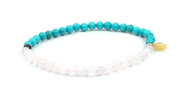 Rose-Onyx-Turquoise | Centered Line