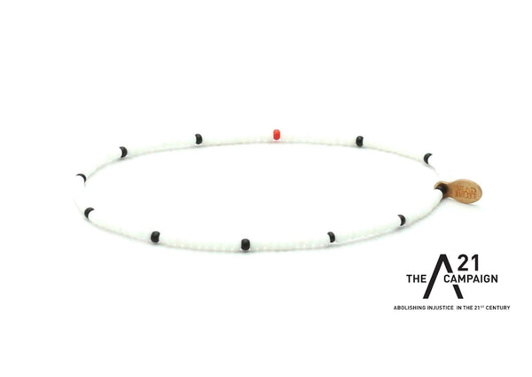 A21 Campaign Abolish Human Trafficking Bracelet - Bead Relief