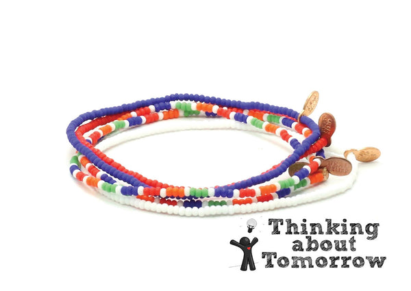 Thinking about Tomorrow Bracelet 5-pack