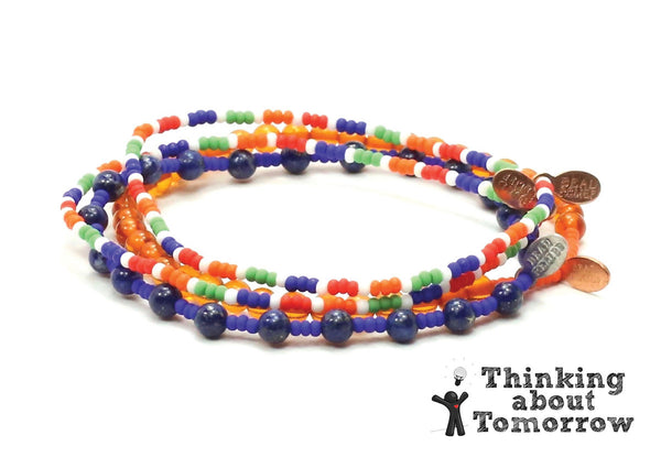 Thinking about Tomorrow Bracelet Combo Stack - Bead Relief