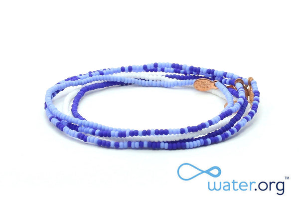 Water.org Bracelet 5-pack - Bead Relief