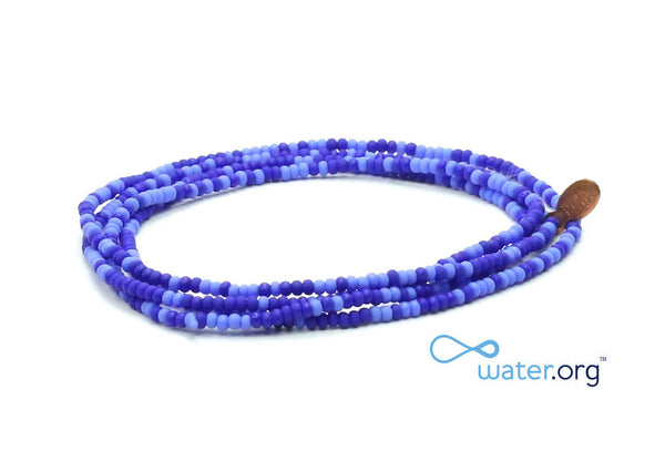 Water.org Wrap Bracelet - Bead Relief