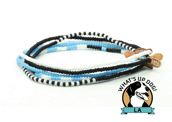 What's Up Dog! LA Bracelet 5-pack - Bead Relief
