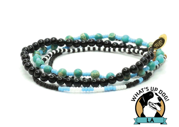 What's Up Dog! LA Bracelet Combo Stack - Bead Relief