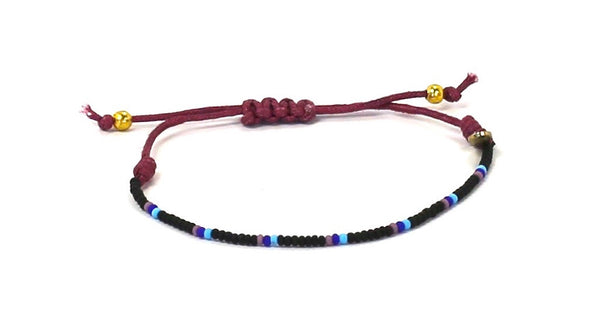 Yoga Gives Back String Tie Bracelet