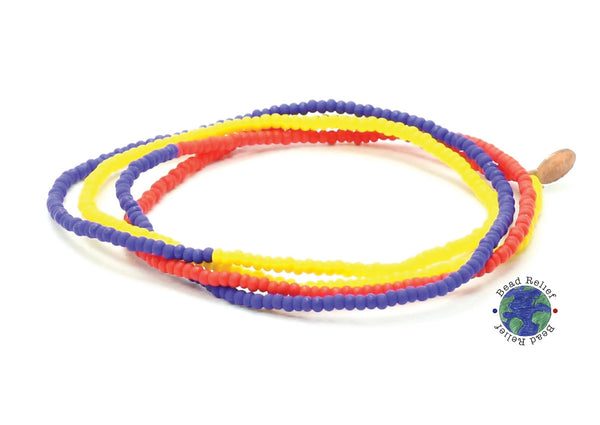 Tri-Color Wrap Bracelet