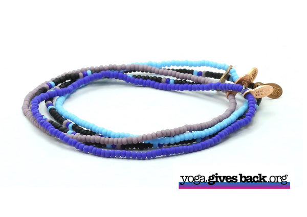 Yoga Gives Back Bracelet 5-pack - Bead Relief