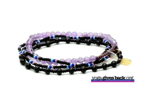 Yoga Gives Back Bracelet Combo Stack - Bead Relief