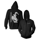 Turn Your Back Zip Hoodie - Them Crooked Vultures  - 1