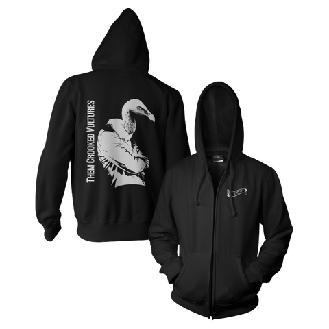 Turn Your Back Zip Hoodie
