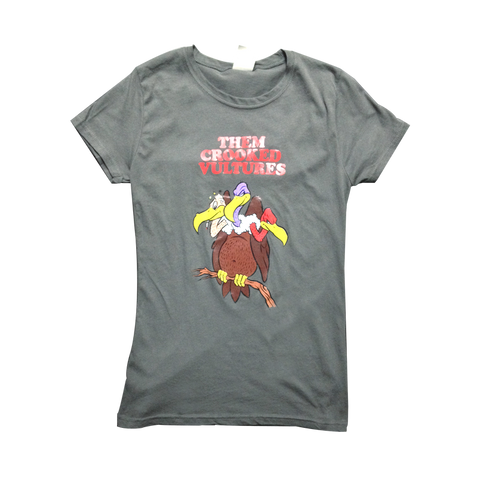Cartoon Vulture Womens Tee