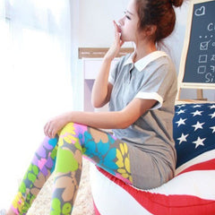 Floral Cotton Leggings2