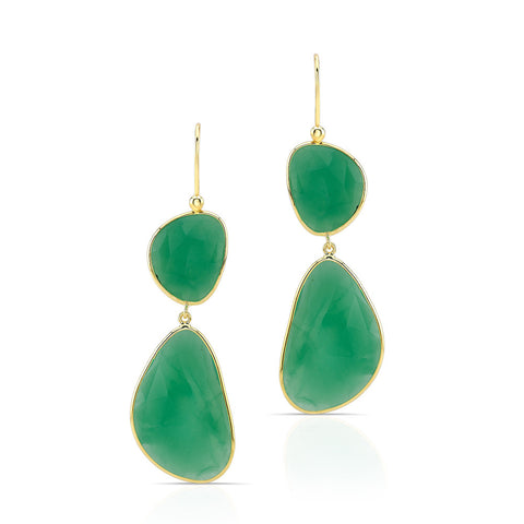 Chrysoprase Resort Earrings