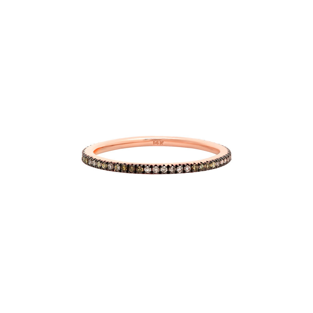 rose infinity gold wolpe pave band jewelry ring sparkling neta diamond small brilliant