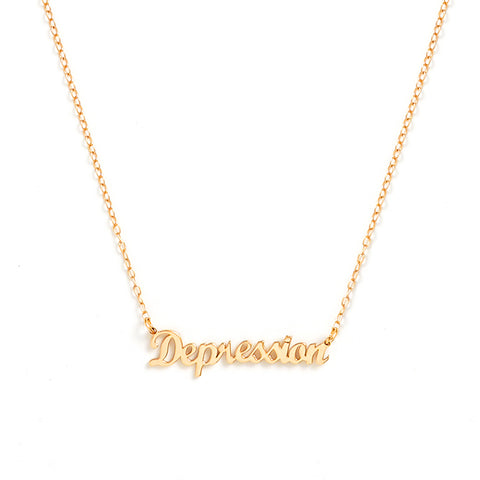 Depression Necklace