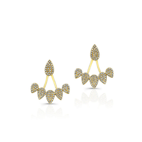 Tiara Floating Earrings