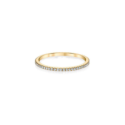 Diamond Stackable Ring - Infinity Band Luxe