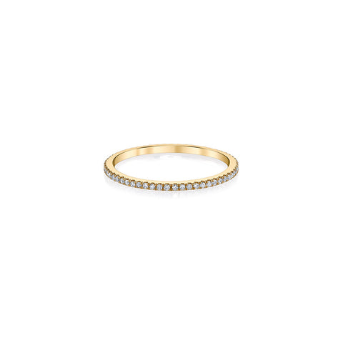 Diamond Stackable Ring - Infinity Band