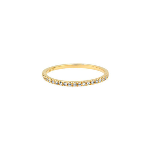 385cf292f Diamond Stackable Ring - 1/2 Band