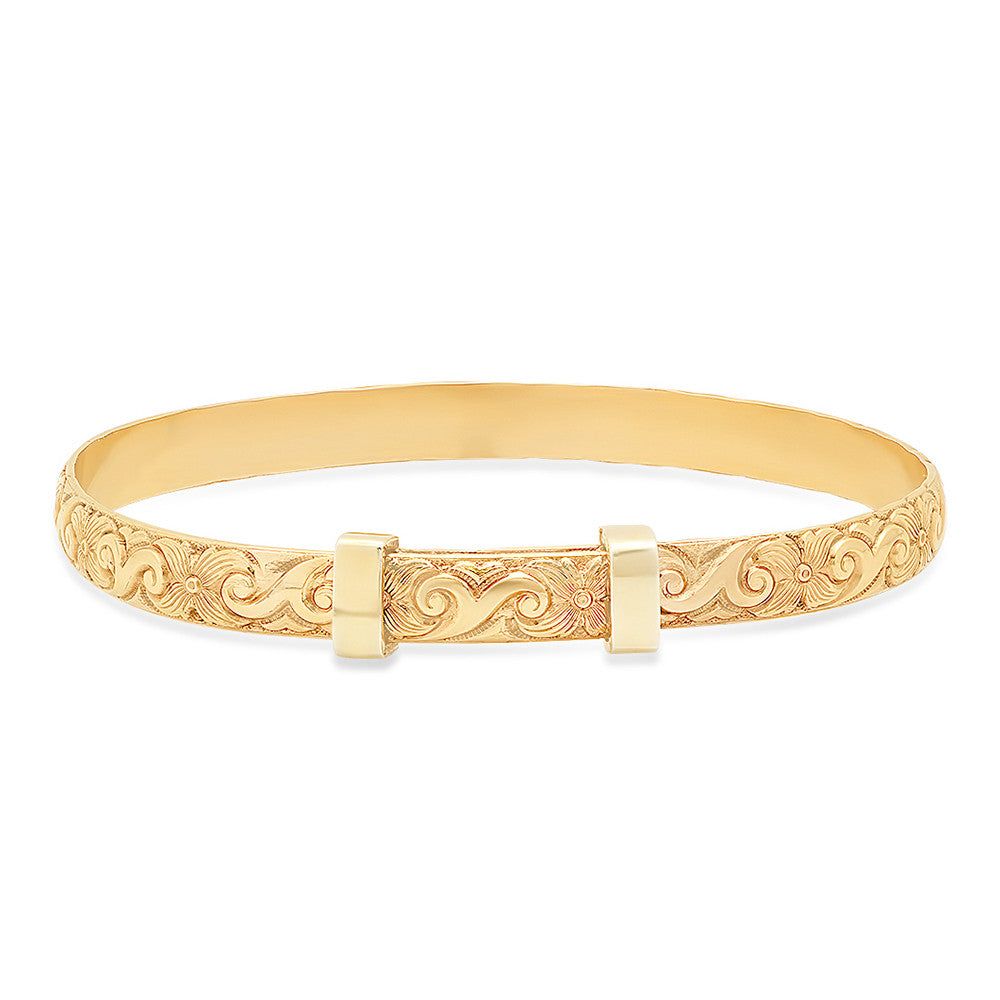 initial angle circles bangles charm bangle with gold