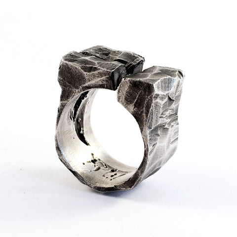 Lacuna Solid Silver Ring