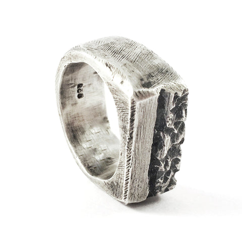 Hadd Solid  Silver Ring