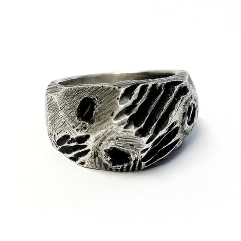 Arthar Solid Silver Ring
