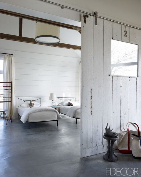 Amazing guest bedroom in Elle Decor