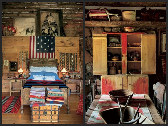 Ralph Lauren's Double RL Ranch in Architectural Digest