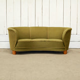 Vintage Green Loveseat