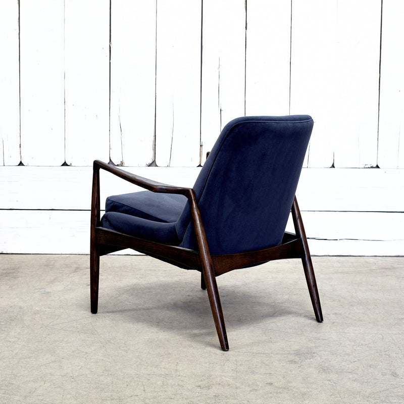 BRADEN CHAIR-MODERN VELVET SHADOW