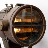 VINTAGE COPPER SEARCH LIGHT