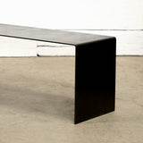 Waterfall Bench in Black
