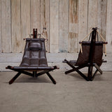 "Dominic Michaelis ""Sail Chair"" Set for Moveis Corazza"