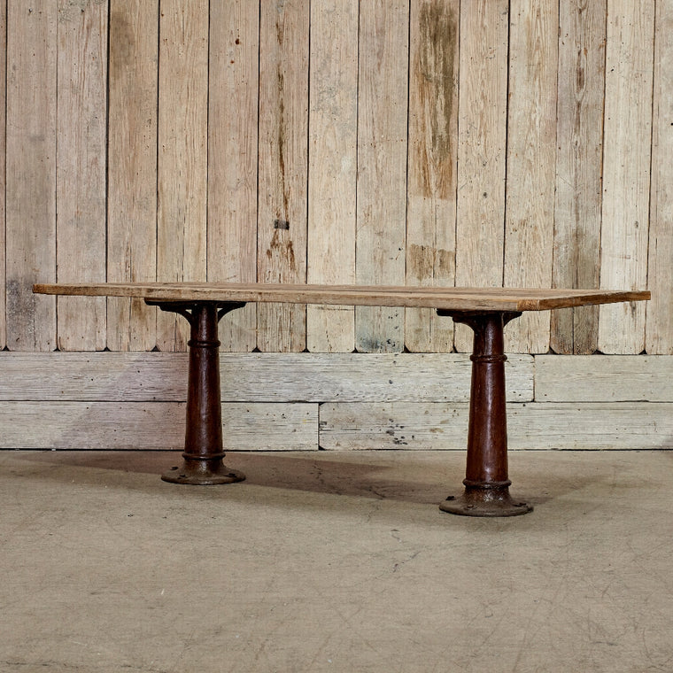 Custom William Industrial Dining Table
