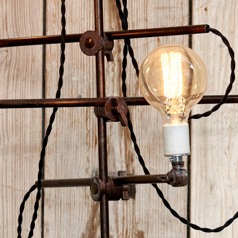 Custom Three Bulb Lamp