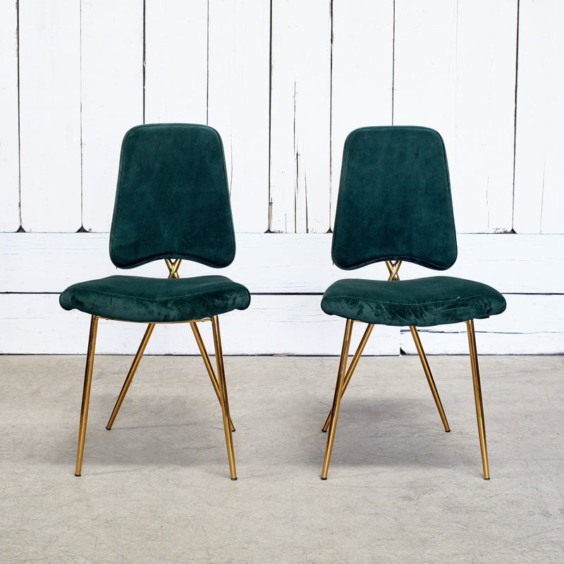 CHANTILLY DINING CHAIR EMERALD