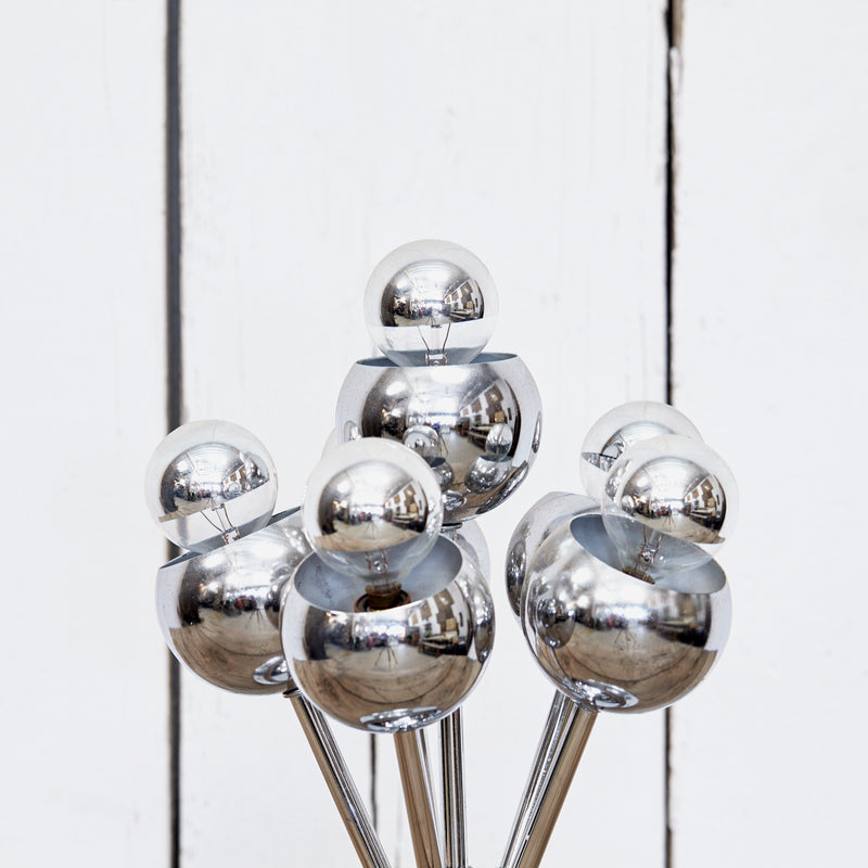 Chrome Little Bubbles Desk Lamp