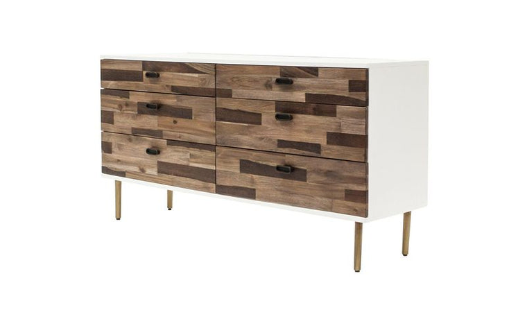CARMEL 6 DRAWER DRESSER