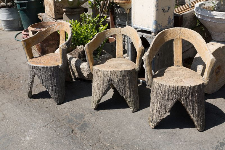 CONCRET CHAIRS