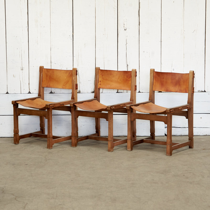 Leather Dining Chair Set of 6