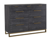 VOGUE 9 DRAWER DRESSER