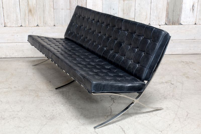 TALIESIN 3 SEATER - BLACK