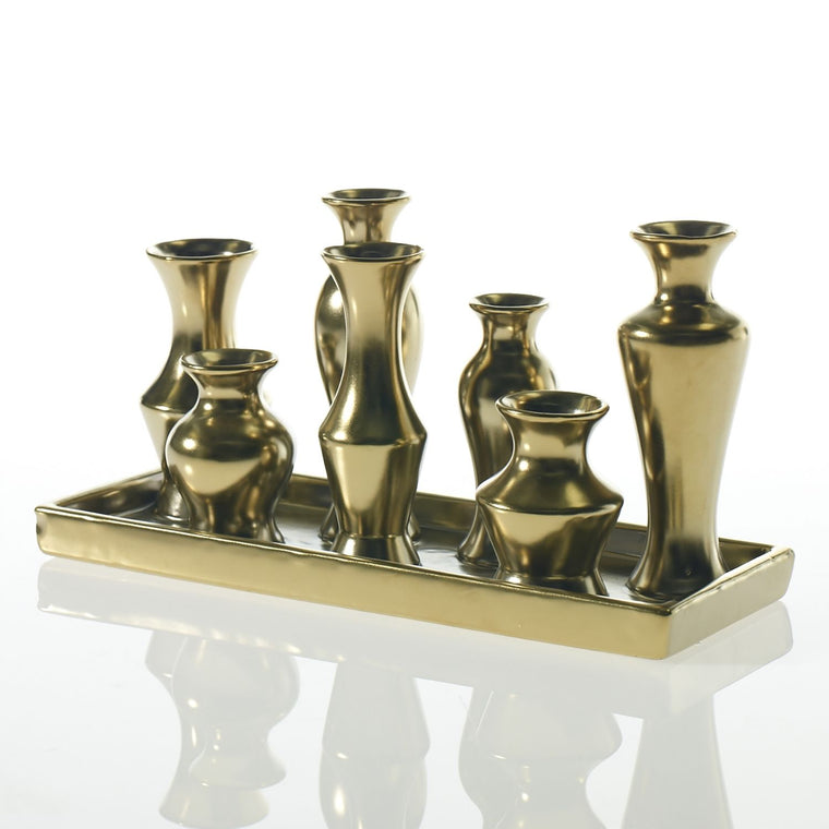 CHIC VASE - GOLD RECTANGLE