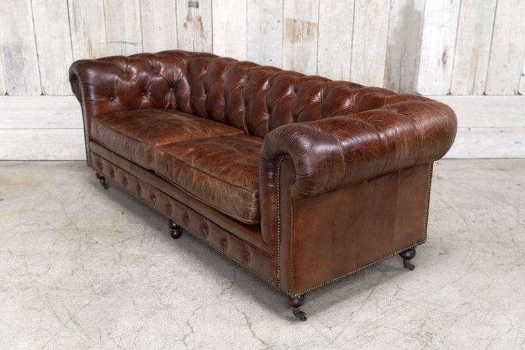 CONRAD SOFA  - CIGAR BROWN