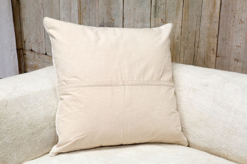 WOOL PILLOW - W/ NATIVE AMERICAN