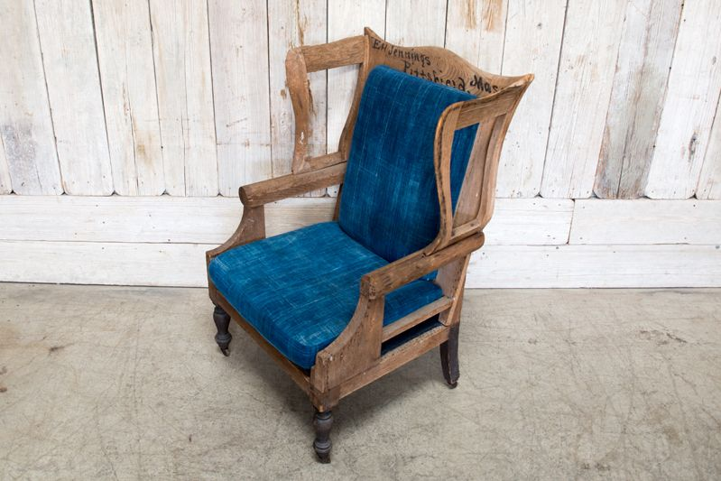 SKELETON WINGBACK CHAIR
