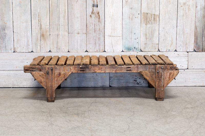 VINTAGE REPURPOSED COFFEE TABLE