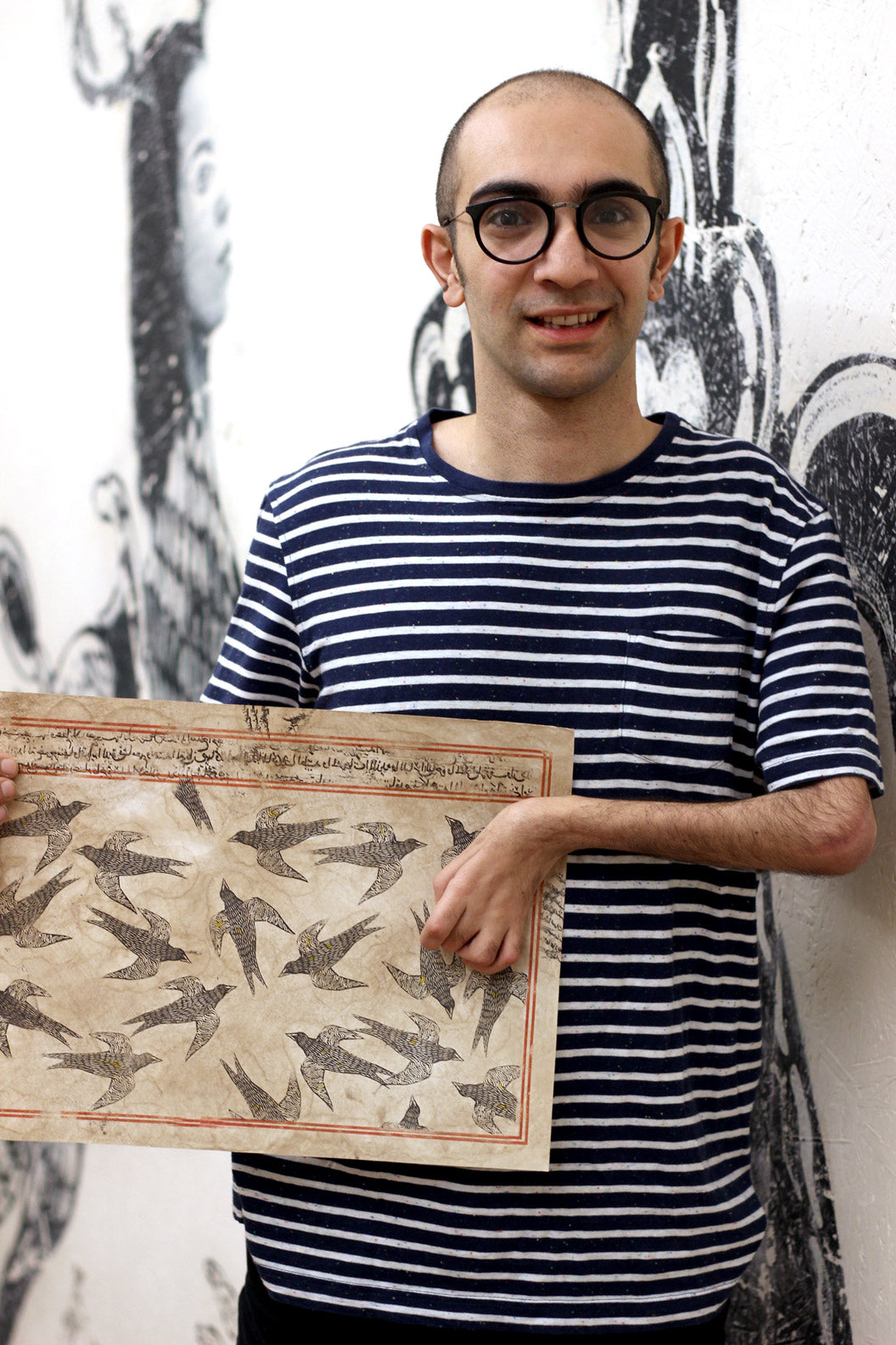 Interview with Mohammad Barrangi for Toi Art Gallery